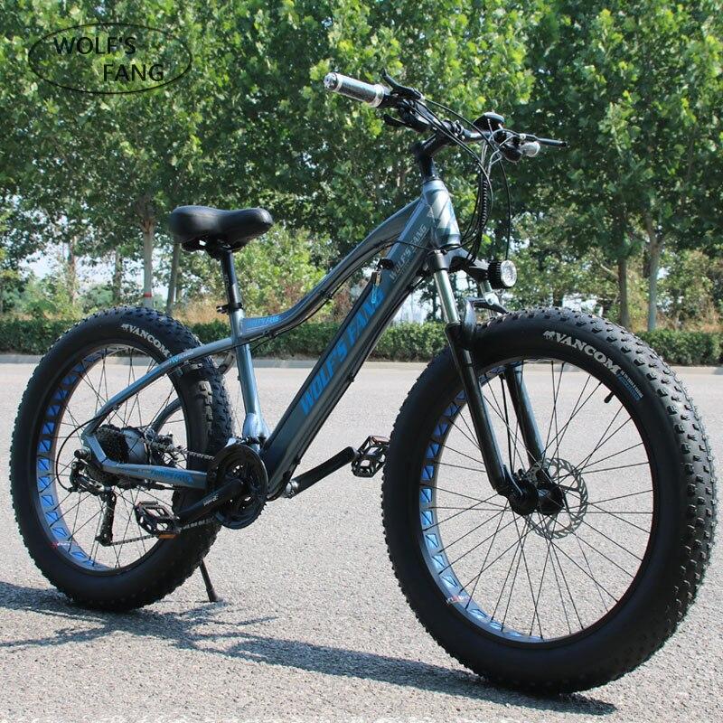 Nova Bicicleta Elétrica ebike Velocidade 27 10AH 48 V 500 W E bicicleta 26*4.0 Bicicletas de Montanha de bicicleta Gordura estrada bicicleta Elétrica Da Liga de Alumínio