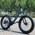 Nuovo ebike Bici Elettrica 27 Velocità 10AH 48 V 500 W E della bici 26*4.0 Mountain Bike Grasso bici strada bicicletta Elettrica In Lega di Alluminio