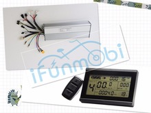 Electric Bicycle Controller 24V 36V 48V 1000W current 26A With Hall Sensors+ Ebike bike LCD3 Display Panel for clamping
