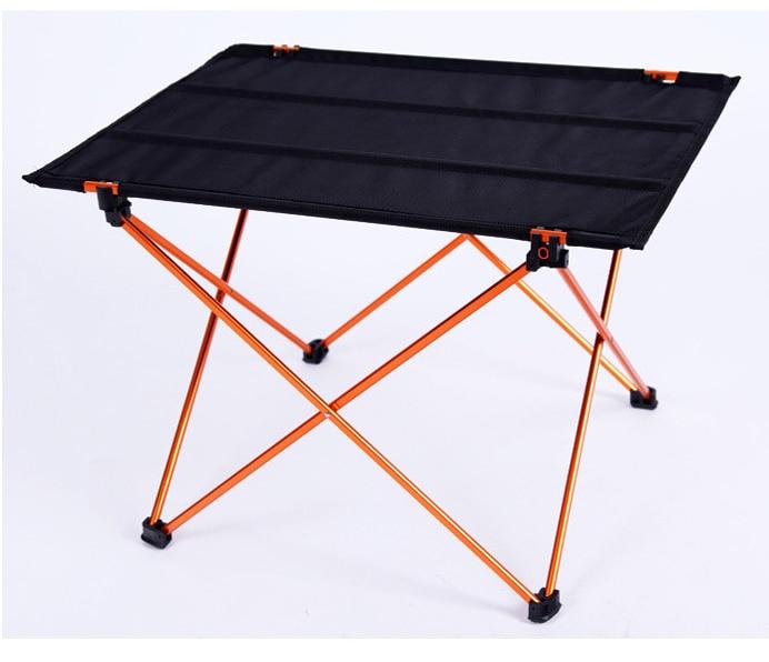 1pcs Casual Aluminum Alloy Folden Outdoor Desk Beach Table Extra Light Dinner Table 56x42x38cm от Aliexpress INT