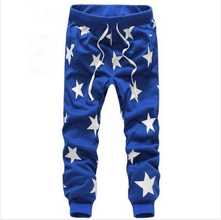 ТОП Мужчины Брюки Звезда Печати Мужчин Jogger Брюки Военный Камуфляж На Открытом Воздухе брюки Модного Бренда Шаровары Hip Hop Брюки
