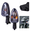 Мотоцикл 2 Шт./лот Цвет Дыма Сигнала Поворота Индикатор Свет Лампы, Пригодный для BMW K1200S F650GS R1200GS R1200GS F800S G450X K1300S