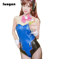 Game D Va Cosplay Costume Sexy Women S Bunny Uniform Ribbit Costume DVA Fan Art Costume