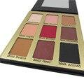 9 Cores Fosco Sombra de Olho Compo o Jogo Paleta de Sombra Brilho Kit Beauty Eyeshadow Cosméticos