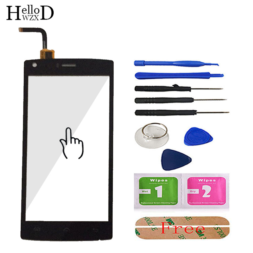 5.0inch For Doogee X5 Max  X5 Max Pro Digitizer Panel Touch Screen Glass Touchscreen Front Glass Lens Sensor Adhesive Gift-in Mobile Phone Touch Panel from Cellphones & Telecommunications