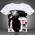 VXO anime printed Tokyo Ghoul T shirt hot fancy Tokyo Ghoul T-shirt for women and men tokyo ghoul ken tshirt