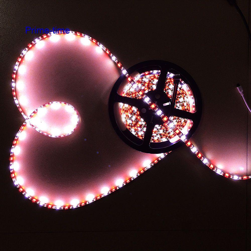 Қара түстегі PCB 5M RGBW RGBWW RGB + (жылу / суық - LED Жарықтандыру - фото 2