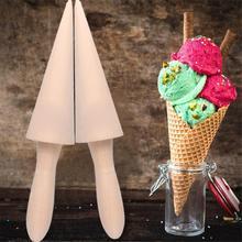 1Pc DIY Cone saldējuma Roll Virtuves sīkrīki Taper saldējuma cepšanas rīki Virtuves aksesuāri Saldējuma pelējums