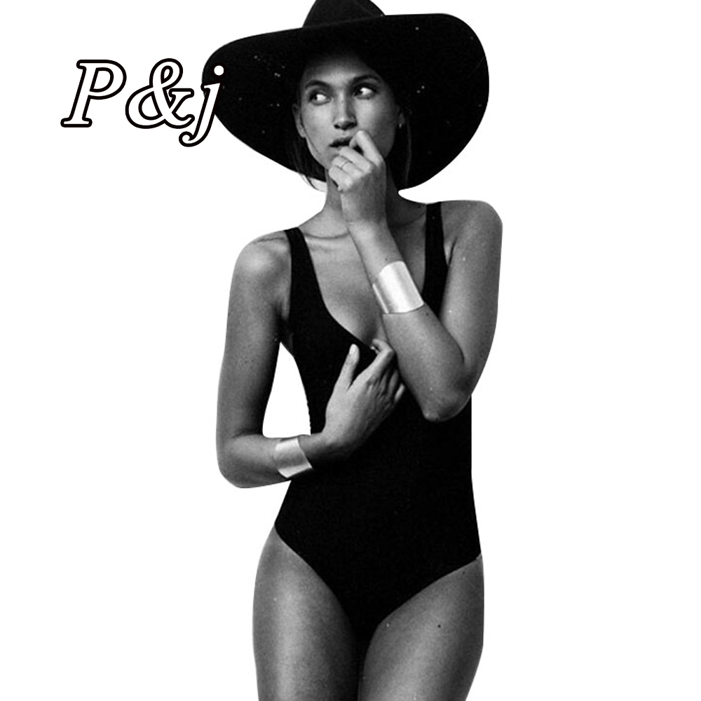 P&j 2016 One Piece Swimwear High Cut Monokini Swimsuit Bandage Women Cut Out Thong Bathing Suits Bodysuit Brazilian high neck one piece swimsuit women high cut thong swimwear sexy bandage trikini hollow out mesh bodysuit female zipper monokini