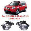 Para NISSAN X-TRAIL (T31) 2007-2015 Lâmpadas De Nevoeiro Luzes Frente lâmpada carros B6A508990A 261508990A 4419375