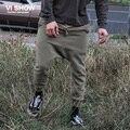 VIISHOW hombres Ocio Pantalones de Los Hombres Pantalones Harem Ocasional de Hip Hop Del Ejército Luz Verde Largo Pantalones de Chándal Para Los Hombres Ropa KC21563