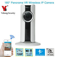HD 720P VR Wifi Wireless Security Camera 1 44mm 180 Degree Wide Angle Fisheye Lens H