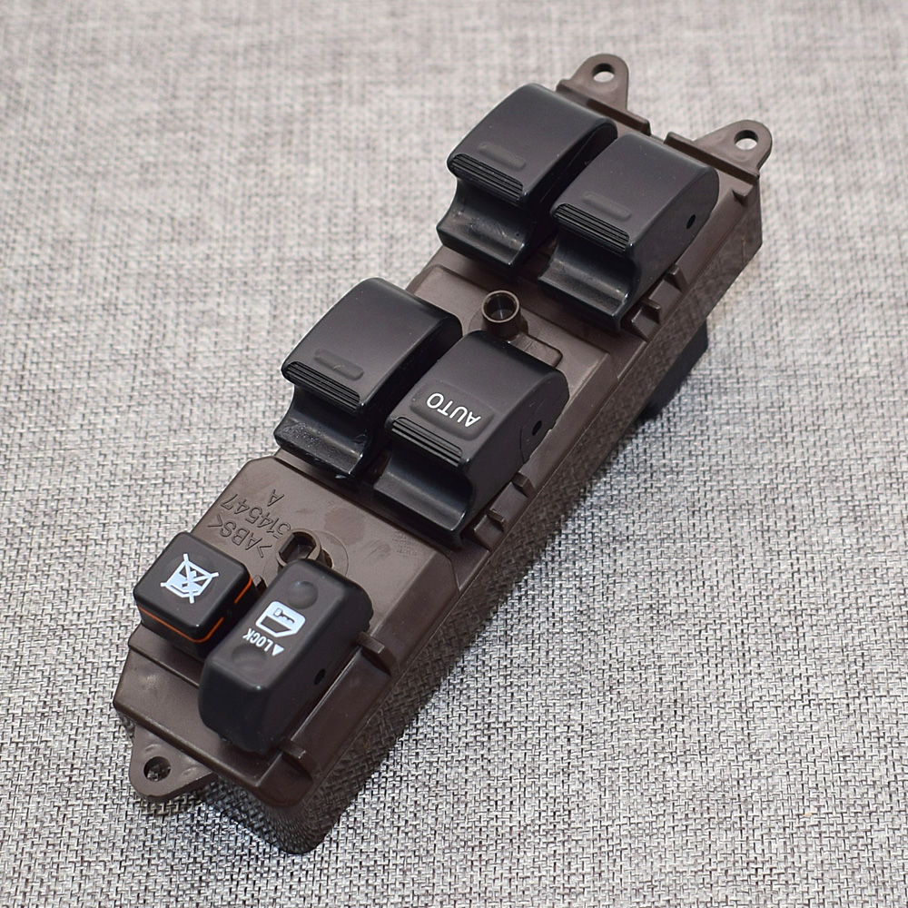 84820 0k021 Electric Power Window Lifter Master Control Switch For Toyota Hilux 2004 2007 Lhd