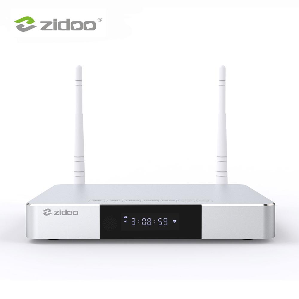 Zidoo Z9S Media Player 4 k Smart TV Box Android 7.1 Système NAS 2 gb DDR 16 gb mem Ensemble top Box HDR Android Top Box HDR 10Bit TVbox