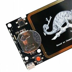 Image 3 - Güncelleme sürümü bukalemun Mini RDV2.0 13.56MHZ ISO14443A NFC RFID okuyucu yazar Nfc kart fotokopi klon çatlak
