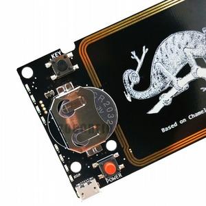 Image 3 - Updated Version Chameleon Mini RDV2.0 13.56MHZ ISO14443A NFC RFID reader writer for Nfc card copier clone crack