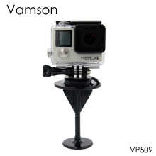 Vamson for Gopro Accessories Surfboard Fixed Bracket Body board Mount Set For Gopro Hero 5 4 3+ Xiaomi Yi SJ4000 Camera VP509