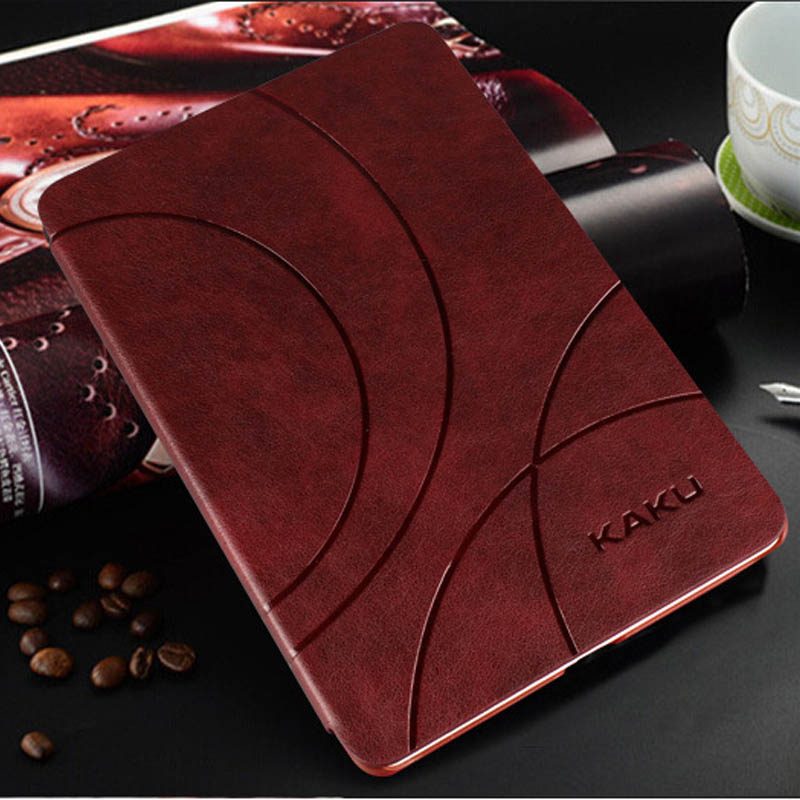 HOT! high quality Brand Business PU Leather Cases Smart Cover For Xiaomi Mipad 2 Mi pad 2 Tablet cases mipad2 +Stylus+pen