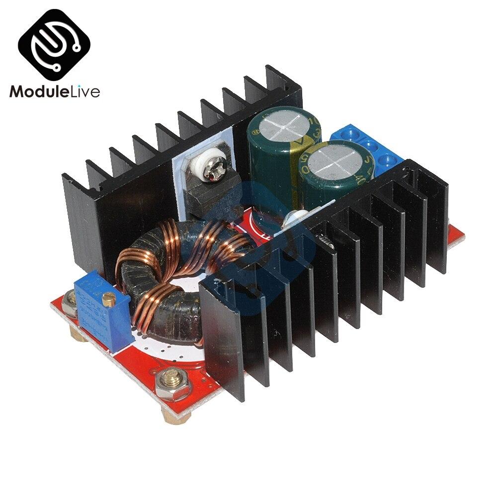 150W DC-DC Boost Converter DC DC Step Up Converter Module Adjustable Static Power Supply Voltage Regulator Step Up Module 5V