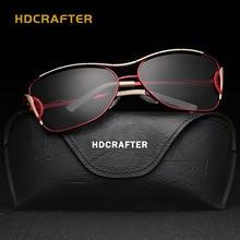 HDCRAFTER 2017 new Люкс ретро cat eye солнцезащитные очки женщины марка дизайнер солнцезащитные очки для женщин моды солнцезащитные очки E94