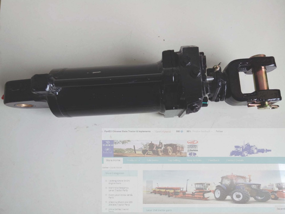 TG1204.551.1, the lift hydraulic cylinder for Foton Lovol TG1204 TG1254 tractor premintehdw bed bracket flap hinge hydraulic lift up
