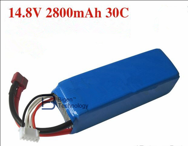 Free shipping Feilun FT010 FT011 rc boat 14.8V 2800mah 30C Lipo Battery FT010 FT011 RC boat Upgraded version Spare Part