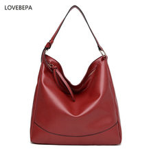Fashion shoulder bags for women handbag female  large capacity tote famous brands high quality women leather handbags 2017
