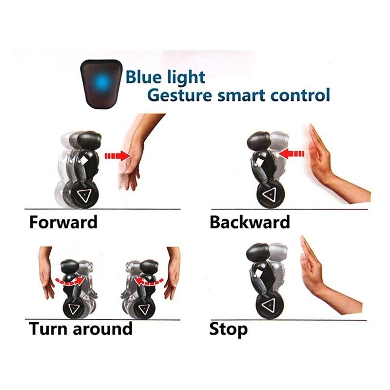 Intelligent Humanoïde Robotique Robot de contrôle à distance Smart Auto Équilibrage robot 5 Modes de Fonctionnement Robot chien animaux jouets électroniques - 5