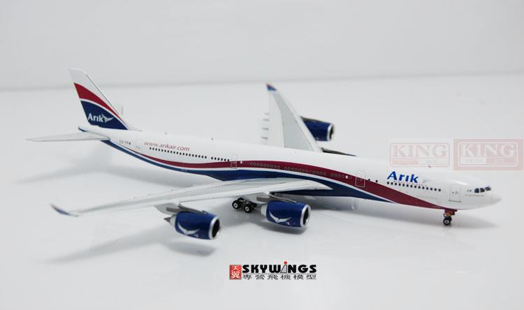 10701* Arik Air A340-500 CS-TFW Phoenix 1:400 commercial jetliners plane model hobby sale phoenix 11221 china southern airlines skyteam china b777 300er no 1 400 commercial jetliners plane model hobby