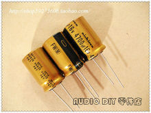 30PCS Nichicon FW Series Electrolytic Capacitor for 4700uF/16V Audio free shipping