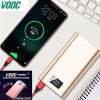 Lwizing 20000mah batterie externe Vooc Dash Powerbank 5V 4A 20W 18650 chargeur Portable pour Oneplus 6 6T 5T 5 3T One plus Oppo R15