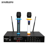 Amplifier Microphone all in one machine 602B 2 channel wireless Bluetooth Built in FM radio USB SD card MP3 playback High bass a