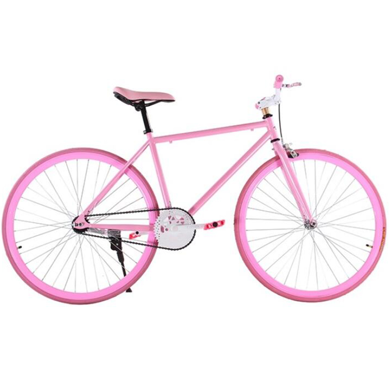 Dead Fly 26 Inch Adult Solid Tyre Web Celebrity Student Genuine Teen Inverted Brake Bike Male And Female Bicycle Color
