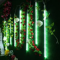 50cm 8 Tubes USB 240 LED String Light Meteor Shower Rain Christmas Wedding Party Tree Outdoor