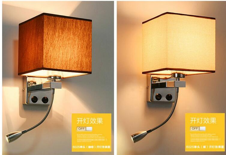 European style wall lamp bedside lamp simple modern hotel bedroom living room American wall lamp FG301