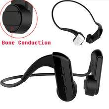 Condução óssea fone de Ouvido Bluetooth Sem Fio Fones De Ouvido Microfone IP67 BT4.1 Música Estéreo fone de Ouvido Sem Fio Esporte Fone de Ouvido À Prova D' Água