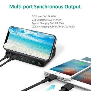 Image 4 - INGMAYA Qi Беспроводное зарядное устройство, мульти порт USB для быстрой зарядки USB Type C с функцией быстрой зарядки для iPhone X Samsung Huawei Nexus Ми USB C адаптер