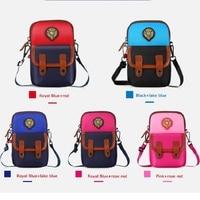BEAR DEPT FAMILY Boys Girls Messenger Crossbody Kids Children Small Coin Bags School Bag Shoulder Bags