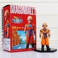 1Pcs Kuririn Figure Dragon Ball Z Super Krillin Kuririn PVC Action Figures Toy Collectible Model Dolls Toys 12cm