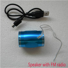 New Arrival 2017 Portable Digital Amplifier mini Speaker FM radio ,smallest Hifi Stereo Computer Speaker MP4 player TF/Sd cards(China)