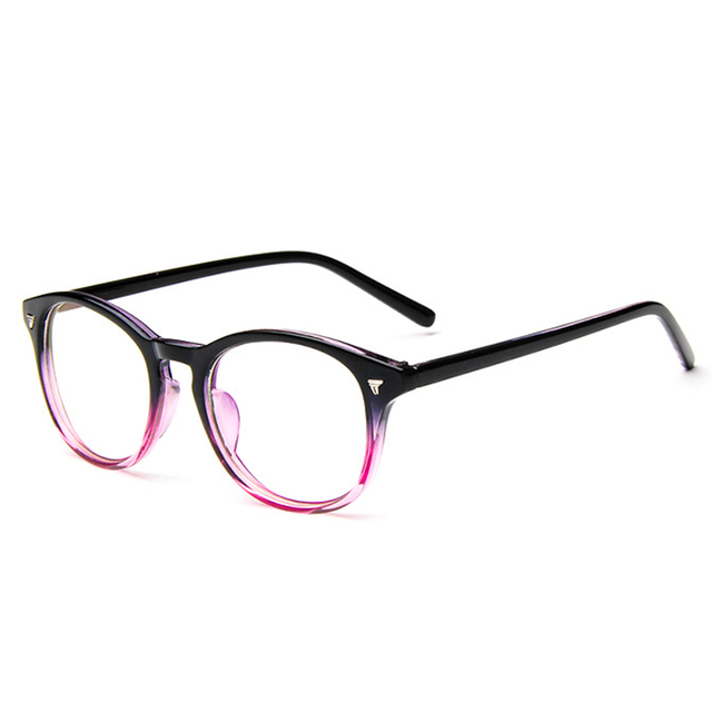 ac41882bf6 2018 New Metal Rivets Eyewear Frame Women Men Retro Clear Lens Glasses  gafas Vintage Fashion Male