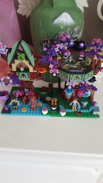 Bela 10414 Elfos Elfos de Copas de los árboles Escondite Emily Jones Kits de Edificio Modelo minis Bloques de Juguete Ladrillo Compatible Lepin 41075