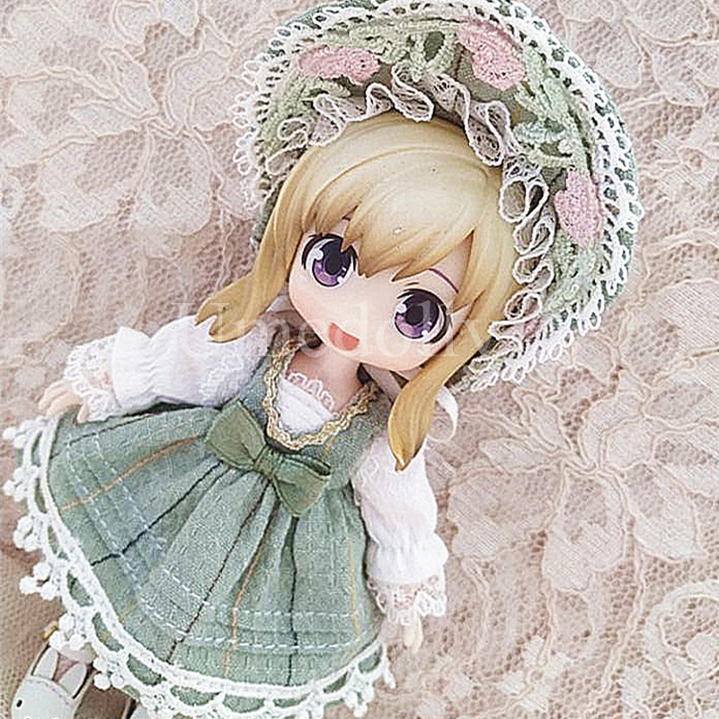 1 Set sweet ob11 doll dress hat pumpkin shorts for obitsu 11 doll clothes outfits accessories