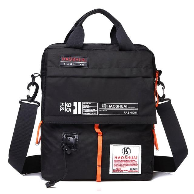 Crossbody bag New Multifunction Men bag Retro handbags Women Nylon Bags Shoulder Messenger Bags 3