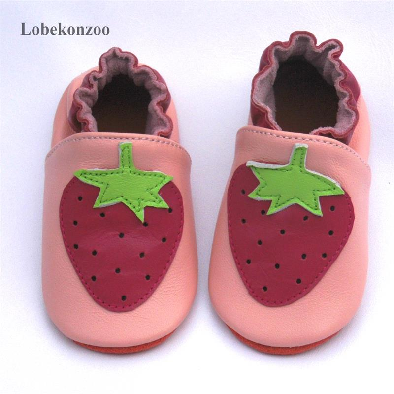Lobekonzoo  Hot Sell Baby Girl Shoes  Guaranteed 100% Soft Soled Genuine Leather Baby First Walkers   Infant Shoes Free Shipping