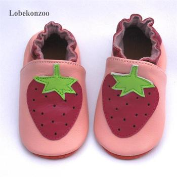 цена на Lobekonzoo  hot sell baby girl shoes  Guaranteed 100% soft soled Genuine Leather baby First walkers   infant shoes Free shipping