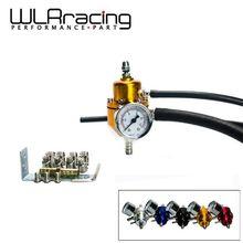 WLRING STORE- NEW Universal Adjustable Fuel Pressure Regulator Gauge JDM FPR 1:1 0-140 PSI  FPR For Toyota WLR7452