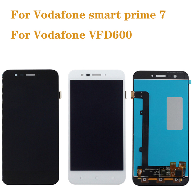 100% test for Vodafone Smart Prime 7 VFD600 LCD touch screen display vfd600 mobile phone repair display components free shipping