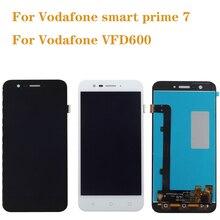 Vodafone smart prime 7 vfd600 lcd 터치 스크린 디스플레이 vfd600 휴대 전화 수리 디스플레이 구성 요소에 대한 100% 테스트 무료 배송