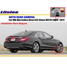 цена на Car Parking Camera / Reverse Camera For MB Mercedes Benz CLS Class W219 2004~2011 / RearView Camera / License Plate Lamp OEM